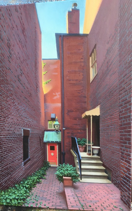 Beacon Hill Alley Apartment